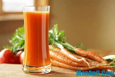 cà rốt ép