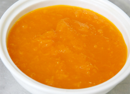 Chè Bí Đỏ đậu xanh nước cốt dừa