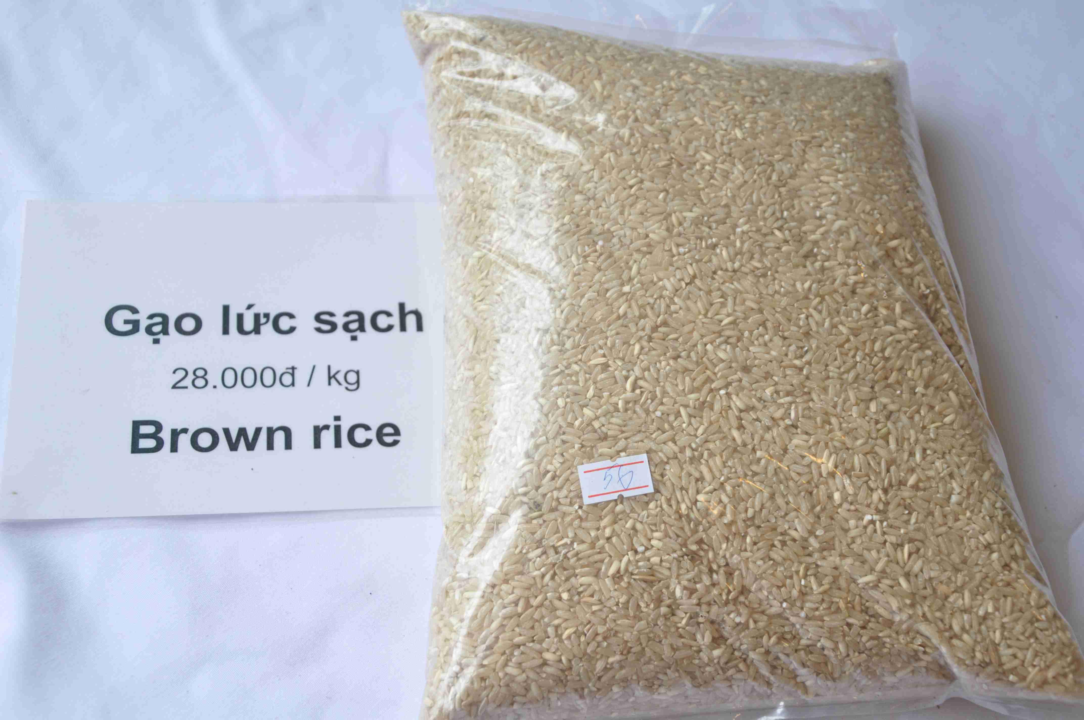 Gạo Lứt Sạch